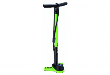 BBB AirStrike Floor Pump Green