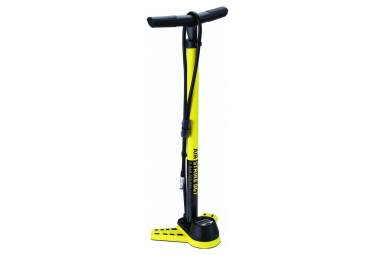 BBB AirStrike DGT Floor Pump with Digital Gauge Yellow