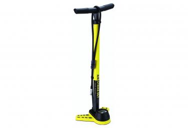 BBB AirStrike DGT Floor Pump with Digital Gauge Yellow