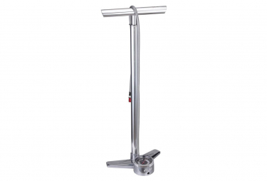 BBB AirBlaster High Pressure Floor Pump Chrome