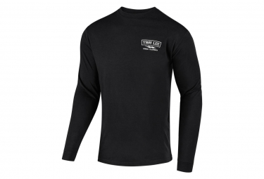 TROY LEE DESIGNS FLOWLINE L S TECH TEE CLASSIC SHOCKER BLACK