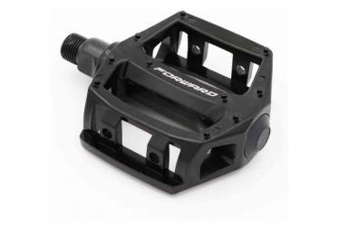 Forward Flat Pedals Affix JR Black