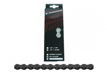 Forward Chain SX Chain 116 Links with Fast Link Black
