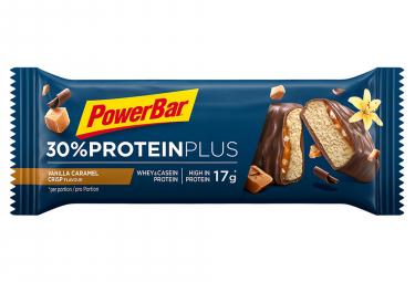 Barre Protéinée Powerbar 30% Protein Plus 55gr Vanille Caramel Crisp