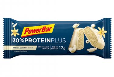 Barre Protéinée Powerbar 30% Protein Plus 55gr Vanille Noix de coco