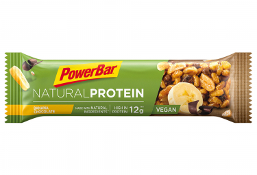 POWERBAR Barra NATURAL PROTEIN 40gr Chocolate y plátano