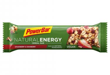 Barre Energétique Powerbar Natural Energy Cereal 40gr Fraise Cranberry