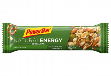 Bar PowerBar NATURAL ENERGY 40 gr dulce N'Salty
