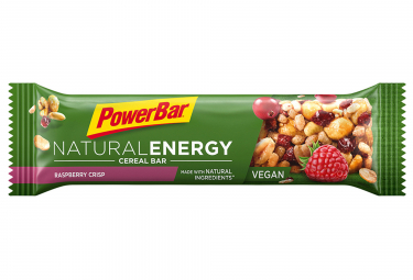 POWERBAR Barra NATURAL ENERGY CEREAL 40gr Frambuesa