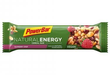 Barre Energétique Powerbar Natural Energy Cereal 40gr Framboise