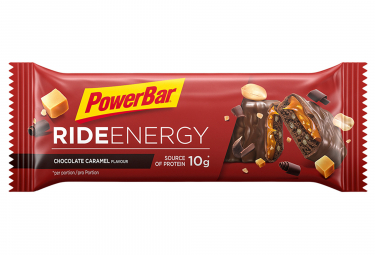 Image of Barre energetique powerbar ride energy 55gr chocolat caramel