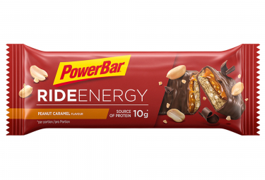POWERBAR Bar RIDE ENERGY 55gr Peanut Caramel