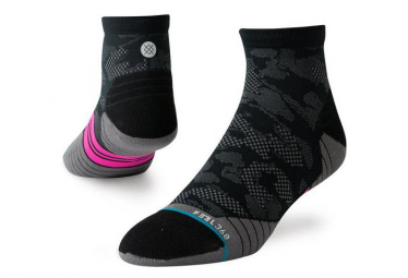 Stance Socks Upshift Quarter Black