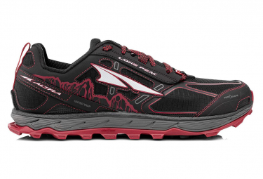 Altra Lone Peak 4 Shoes Black Red