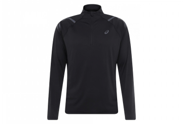Asics Long Sleeves Jersey 1/2 zip Icon Black