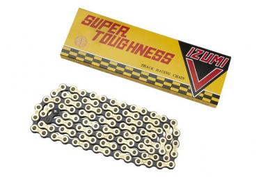 Izumi Chain V Super Toughness NJS Track Chain Gold / Black