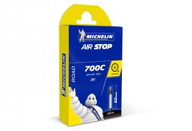 MICHELIN Chambre à air Route A1 AIRSTOP 700x18/25 Valve Presta 52mm