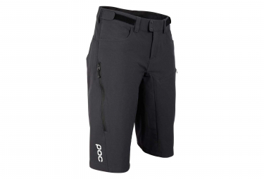 Poc Resistance Enduro Mid Women Shorts No Liner Carbon Black