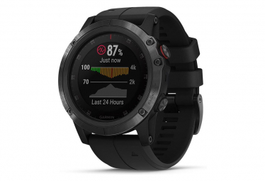 Garmin Fenix 5X Plus Sapphire GPS Watch Black with Black Band