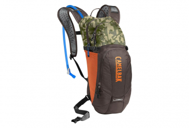 Camelbak Hydratation Pack Lobo 6L with 3L Water Bottle Brown / Camo