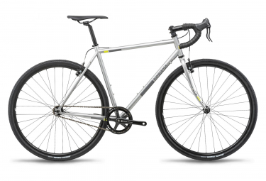 Bombtrack Arise 1 Gravel Bike Single Speed Matt Metallic Grey 2019