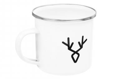 LeBram Enamelled Mug Machine White