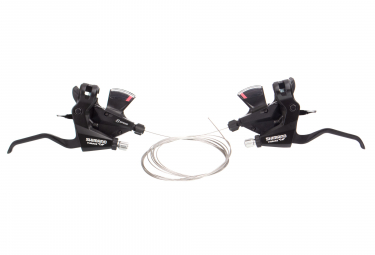 Shimano Altus 3x8V Speed Control with Integral Brakes Black