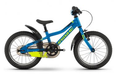 Vélo Enfant Seet Greedy 16'' Singlespeed Rétropédalage Bleu / Jaune / Noir 2021