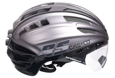 Road Helmet Casco SPEEDairo RS Grey Black