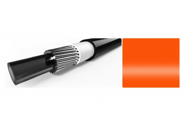 Elvedes 10m Gear Cable with Neon Orange Liner 4.2mm