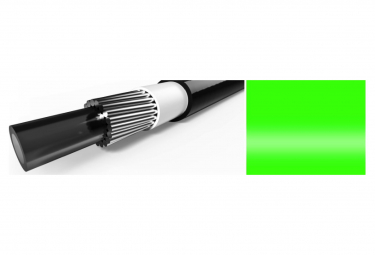 Elvedes 10m Gear Cable with Neon Green Liner 4.2mm
