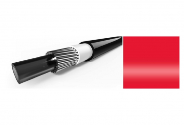 Elvedes 10m Gear Cable with Red Liner 4.2mm