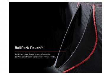Boxer Saxx Vibe Pack de 2 Noir Rouge