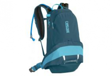 Camelbak Womens BackPack Luxe LR 11L / 3L Water Pocket Dragon Teal Lake Blue