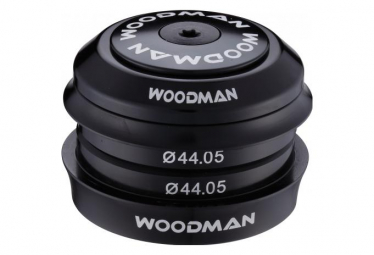 WOODMAN Headset AXIS SICR Comp Semi-Integrated 44mm 1''1/8 Black
