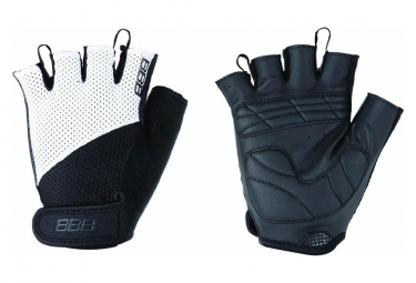 BBB CoolDown Summer Gloves Black White