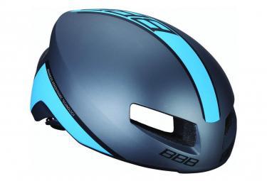 Bbb Tithon Helmet Grey Matte Blue L  58 62 Cm