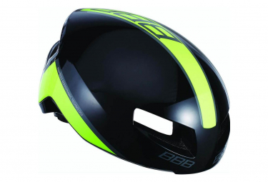Bbb Tithon Helmet Black Shiny Yellow M  55 58 Cm