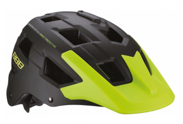 BBB NANGA Helmet Green Yellow