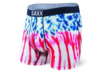 Boxer Saxx Volt Bleu Rouge