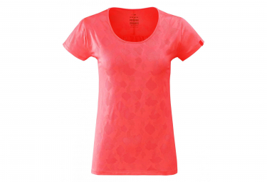 Eider Flex Jacquard Women's T-Shirt Spicy Coral