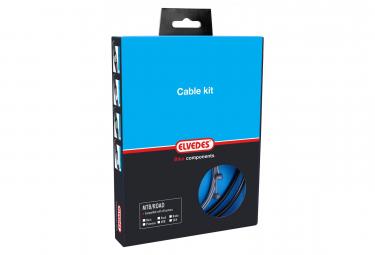 Elvedes Complete Braking Cables Pro-Line Waterproof Black Diameter 4.2mm