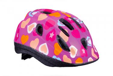 BBB Boogy Helmet heart Pink