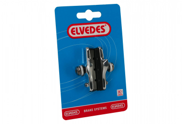 Elvedes Rim Brake Pads 55mm for Road with Alloy Cartridge for Shimano