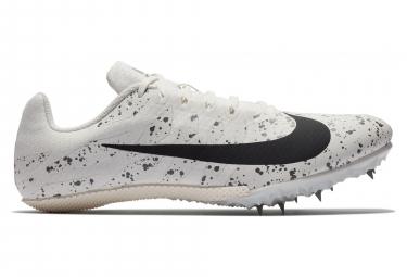 Chaussures d'Athlétisme Nike Zoom Rival S9 Blanc / Noir
