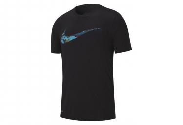 Nike Maillot Manches Courtes Dri-Fit Legend Noir Bleu Homme