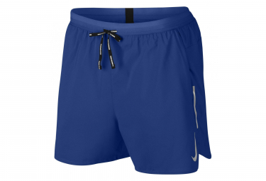 Short 2-en-1 Nike Dri-Fit Flex Stride 13cm Bleu Homme