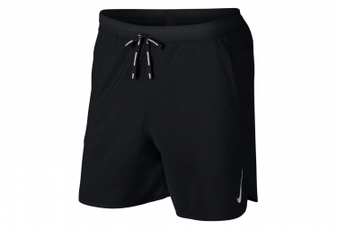 Nike Short 2-en-1 Dri-Fit Flex Stride 18cm Noir Homme