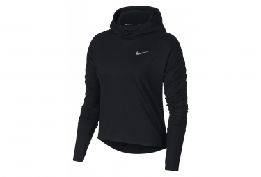 Nike Haut capuche Long Sleeves Element Black Women