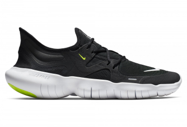 Nike Free RN 5.0 Black White Men